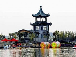 (团购)国庆特惠住上海莎海国际酒店,游渔乐湾生态园,让游人感受老浦东图片