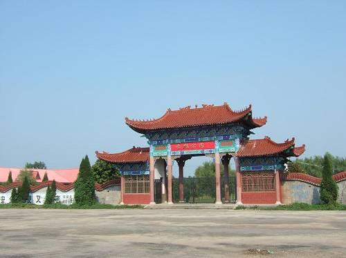 毫州雪枫公园 板桥集战斗纪念馆