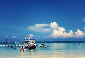 【预售】长滩岛水晶岛鳄鱼岛出海游5小时 (浮潜,烤肉午餐,香格里拉外海)【出境预售】