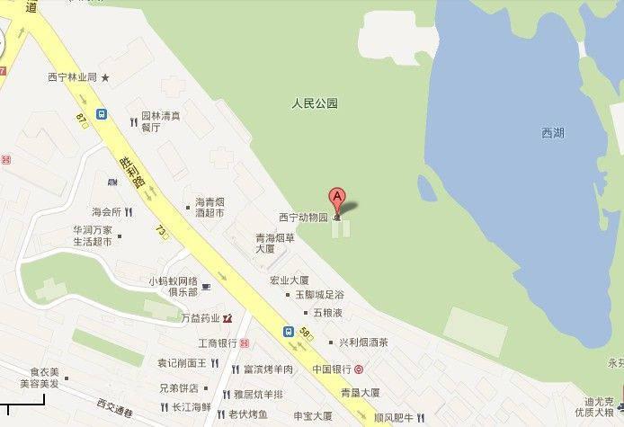 西宁市交通地图