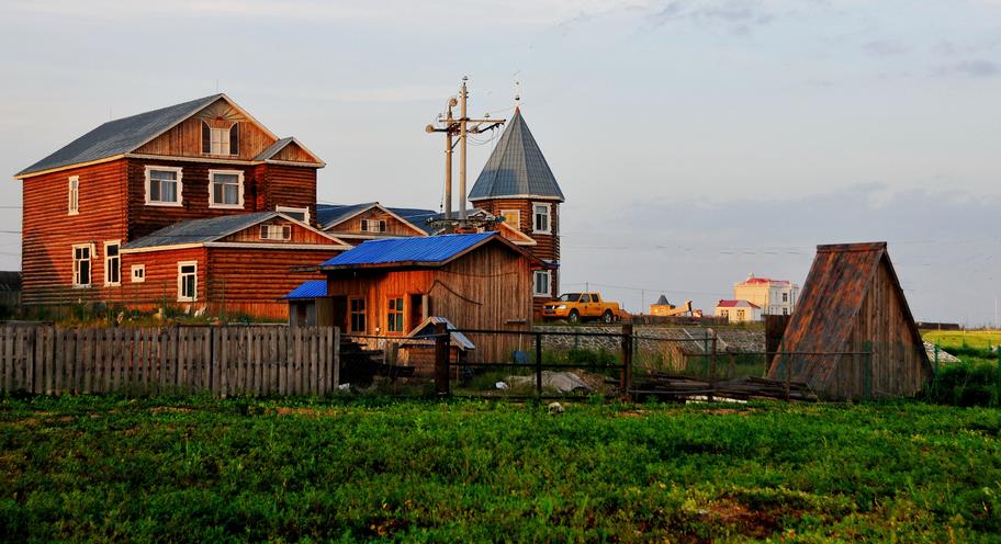 欧式乡村建筑图片