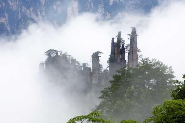 天梯-金鞭溪-凤凰古城-南方长城 【赠价值220元寻梦《边城》演出】-图片
