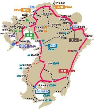 九州十二牧地图