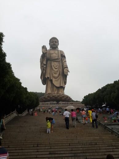 灵山大佛喷泉_江苏无锡灵山大佛_味如清茶