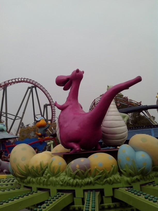 常州中华恐龙园常州中华恐龙园非常不错,通天塔啊,3D和4D 驴妈妈
