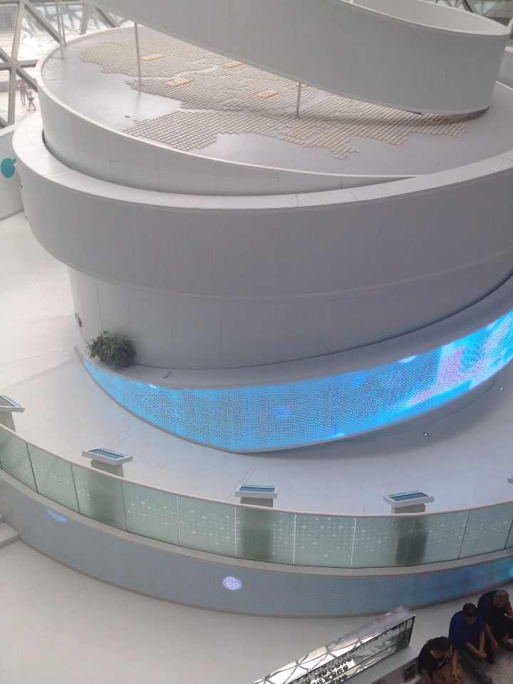上海科技馆   球幕电影图片