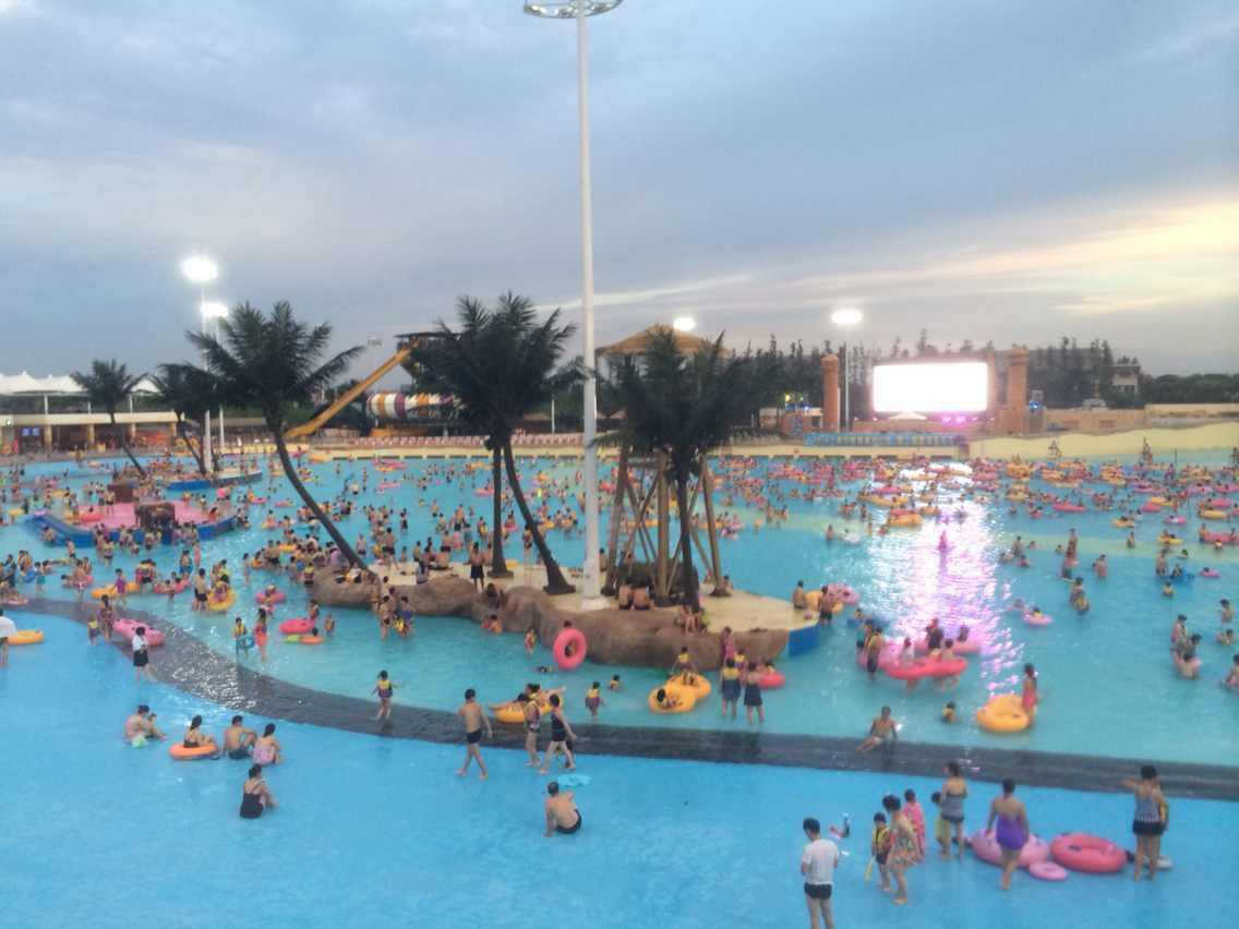 上海玛雅海滩水公园图片