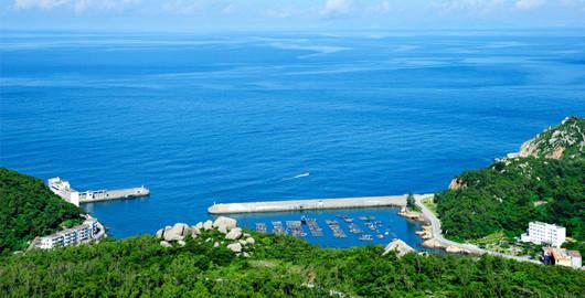 珠海万山岛自由行2天1晚(入住静云山庄1晚 往返船票2份 精美早餐2份