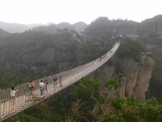 台州仙居神仙居风景区 成人票台州仙居神仙居神仙居上有很多观景台,
