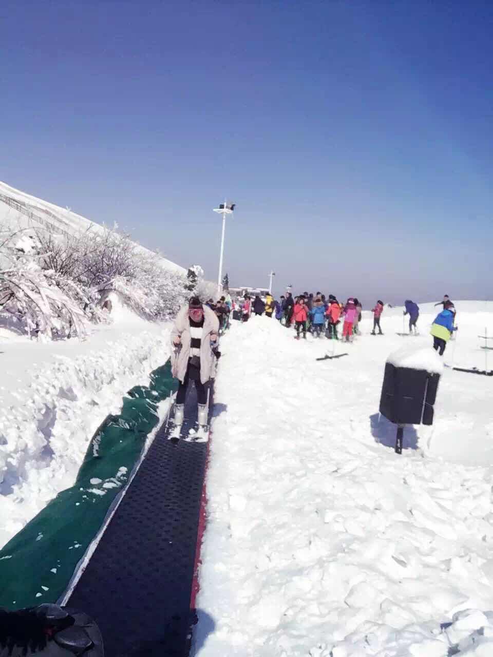 享江南天池高山滑雪,观江南天池景区,入住安吉大年初一风景度假村 图片