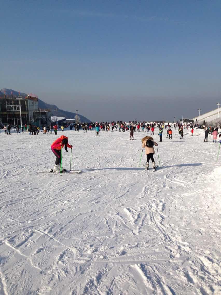 观江南天池景区,享江南天池滑雪,入住安吉JW万豪酒店 酒店美味双图片