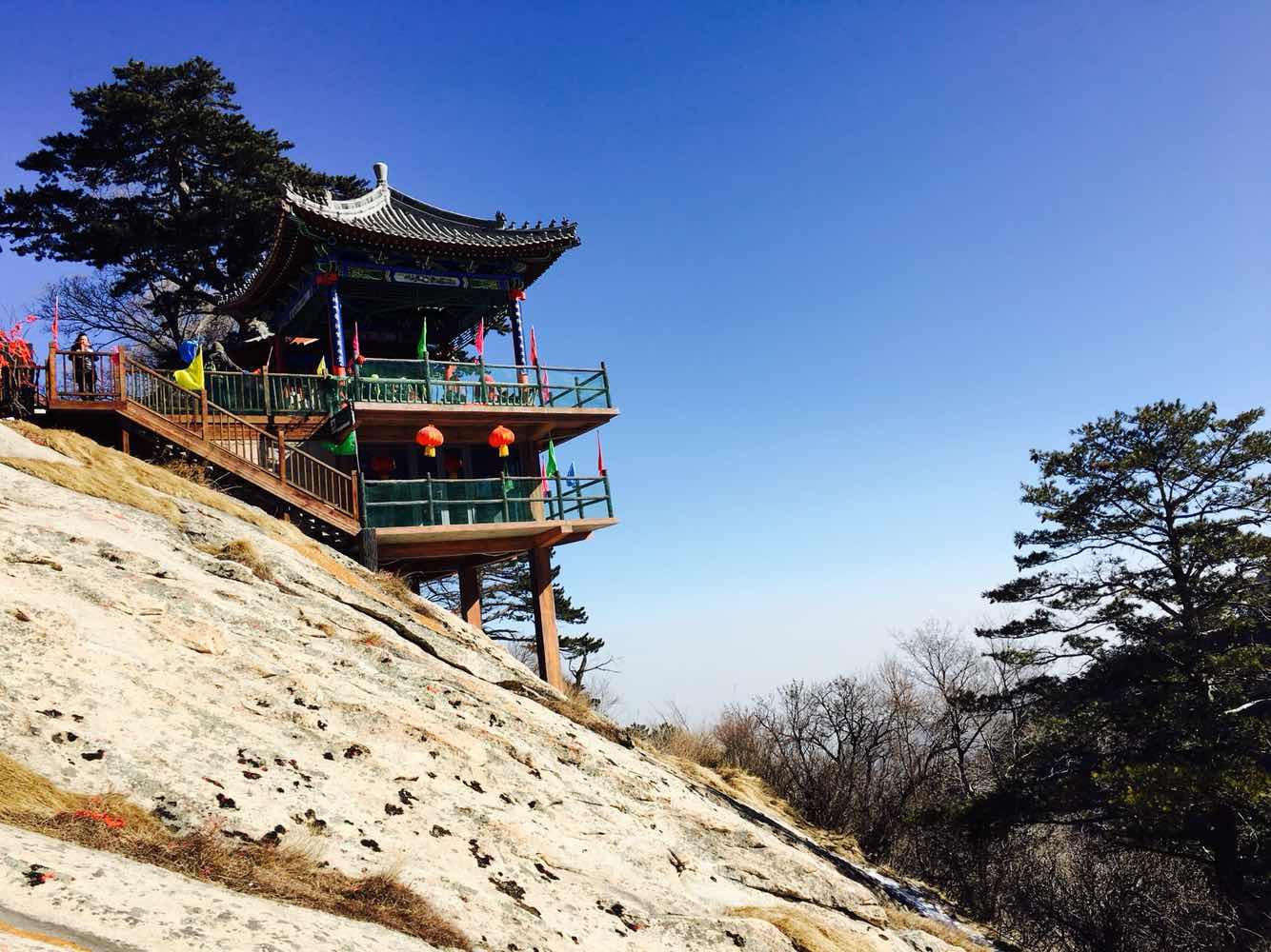 陕西景点门票 渭南景点门票 华山风景名胜区  利用周末时间去爬的华