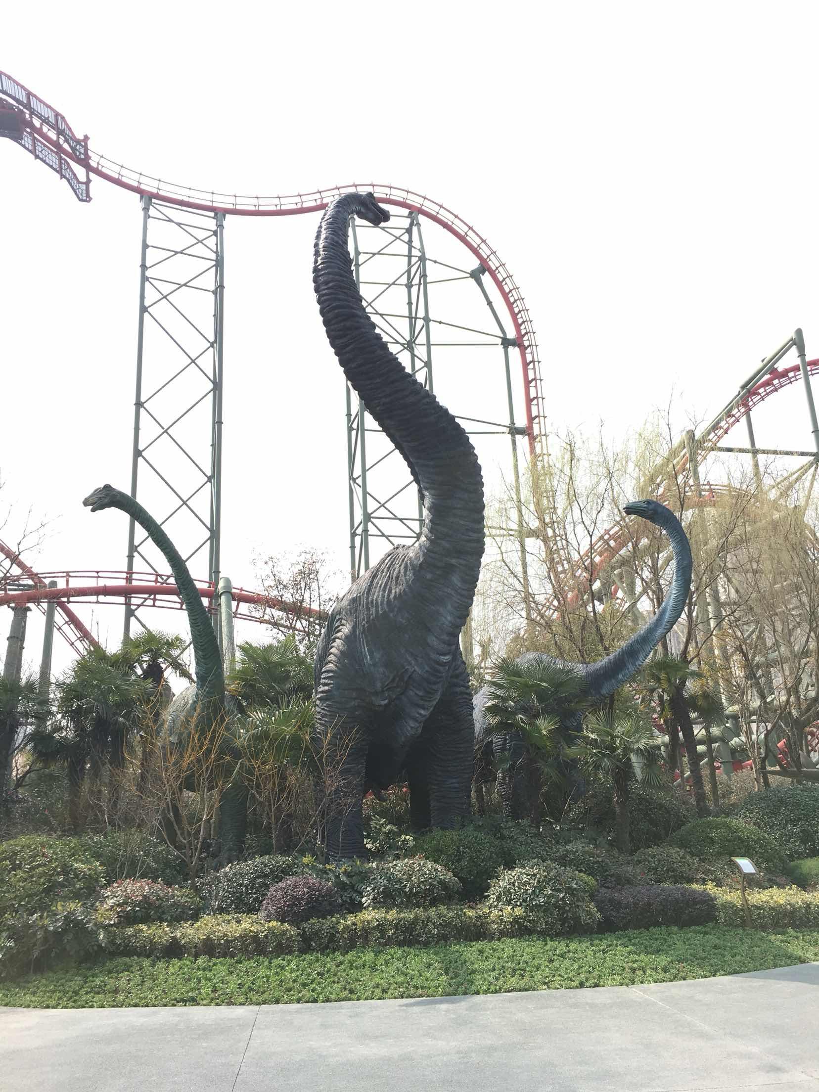 常州恐龙园 常州恐龙园 成人票常州恐龙园高速下来就是,地方蛮好找