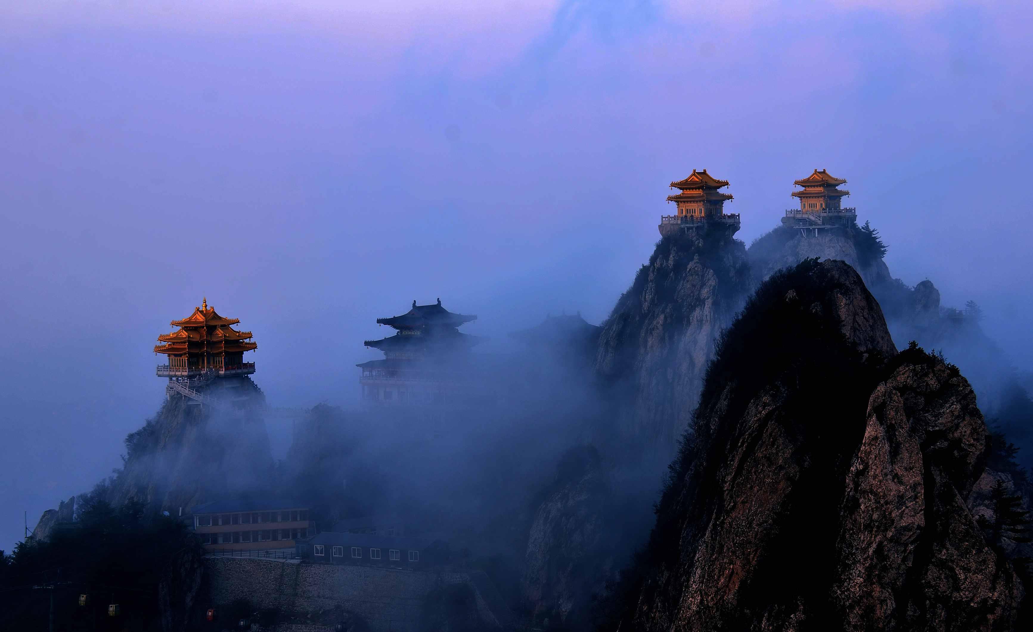 洛阳栾川旅游景点排名 图片合集图片