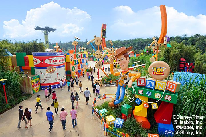 香港-香港迪士尼乐园-反斗士奇兵大本营©香港迪士尼乐园