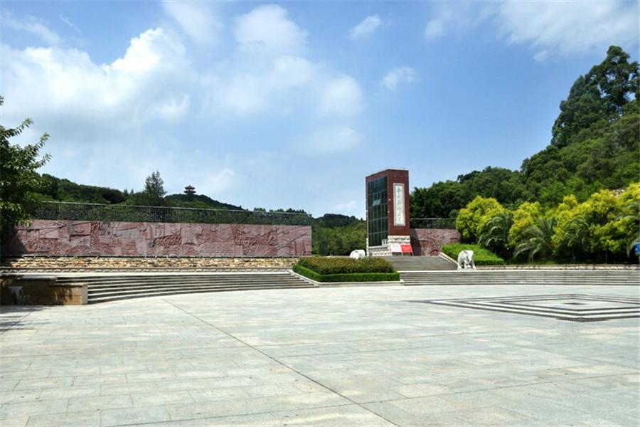 公园大门建筑平面图