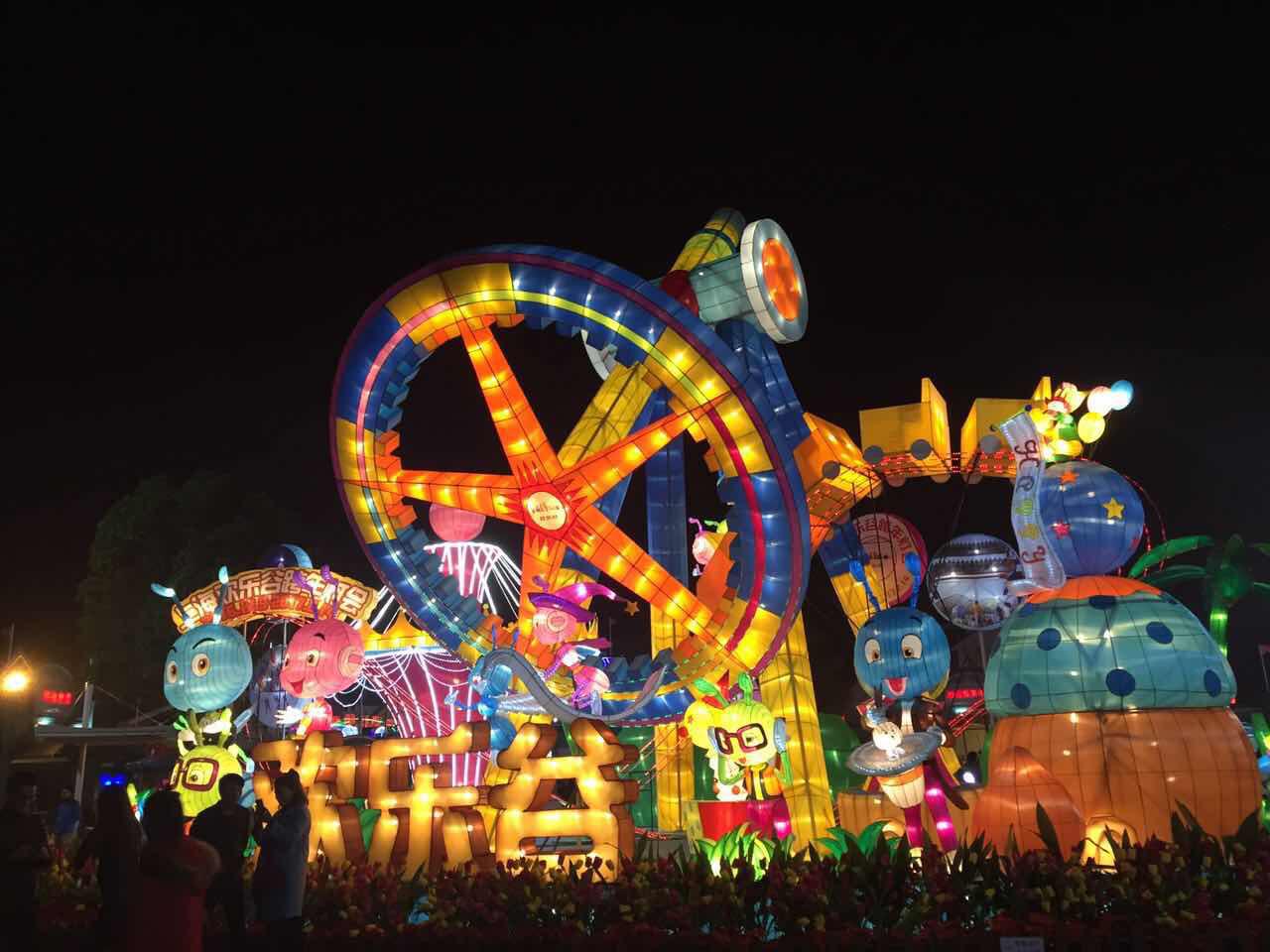 2014上海欢乐谷夜场_上海欢乐谷跨年图片