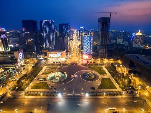 成都市新都区家乐福_成都天府广场图片大全_景点图片/摄影照片【驴妈妈攻略】