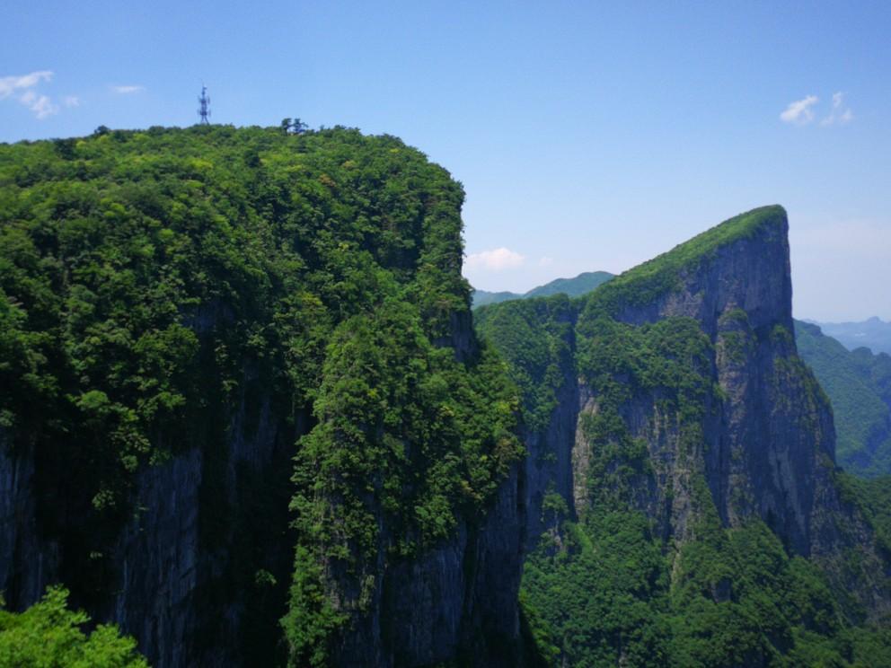 张家界天门山国家森林公园图片