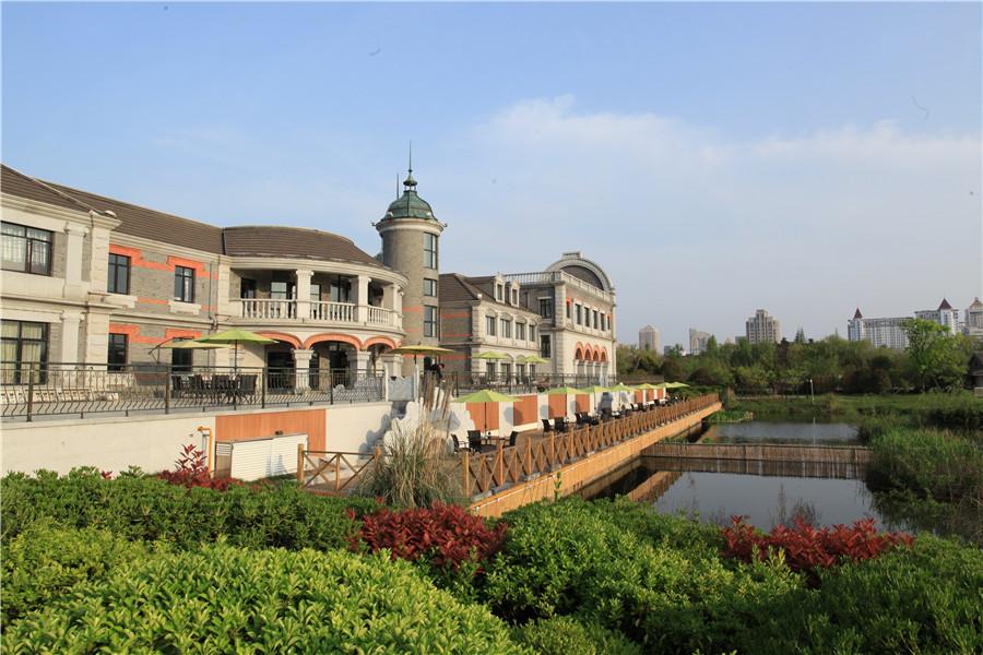 住1晚南通盛和汇酒店1号楼 参观珠算博物馆,濠河边赏