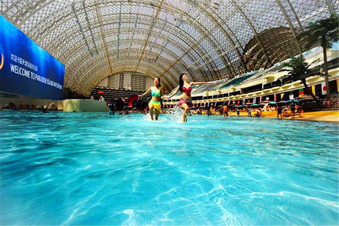 [玩漂流送水]【成都3天自由行】住2晚环球中心天堂洲际大饭店,大 图片图片