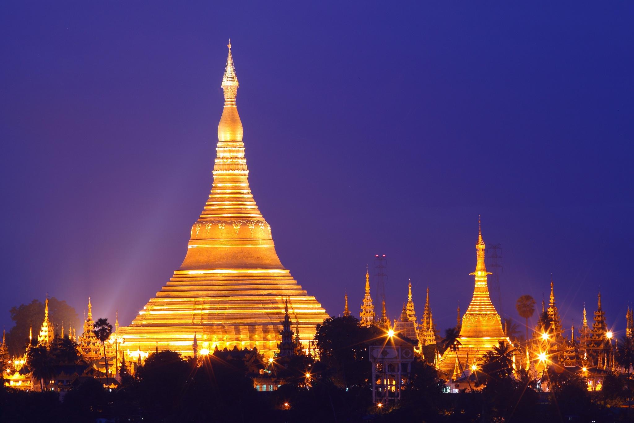 缅甸,仰光勃固丁茵6日4晚游