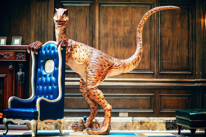 酒店里体验恐龙文化,欣赏私人藏品,探秘史前世界,亲子欢乐时光,图片