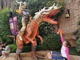 """【亲子游】二次入园""""常州中华恐龙园2日巴士游([圆孩子的恐龙梦]宿恐龙主题酒店或维景酒店或恐龙主题,玩转中华恐龙园)"""